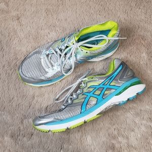 ASICS GT-2000 4 running shoe silver lime punch 11